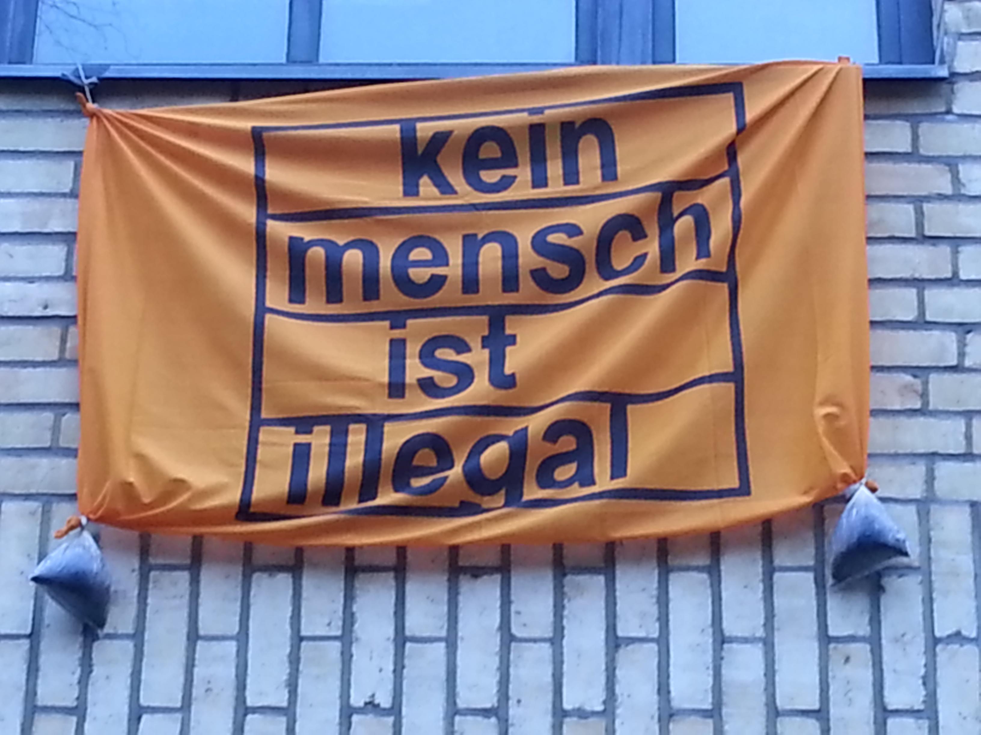 kein mensch ist illegal! schloss19 falken berlin