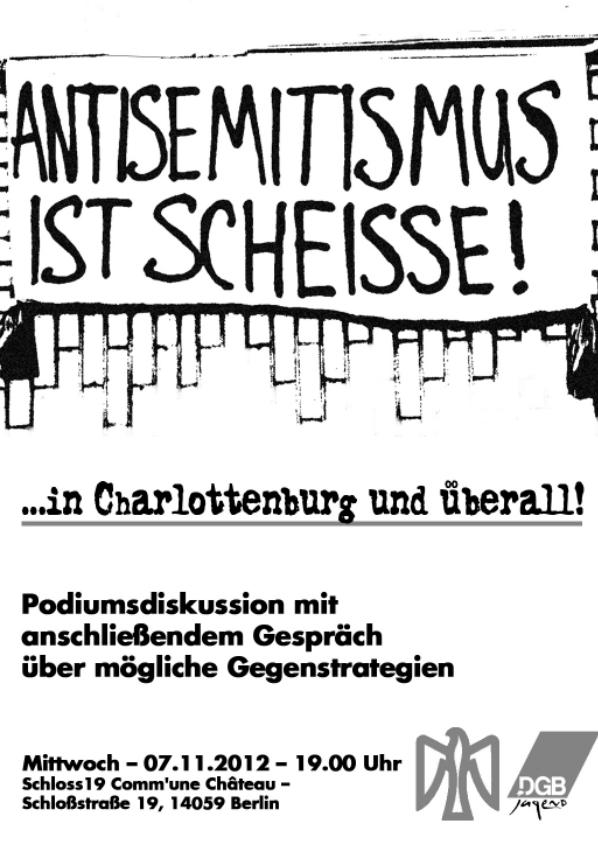 antisemitismus charlottenburg falken berlin dgb-jugend