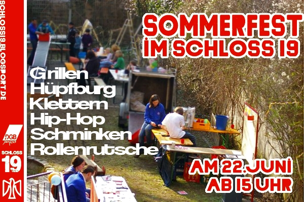 Sommerfest 2013 Schloss19 Falken Berlin