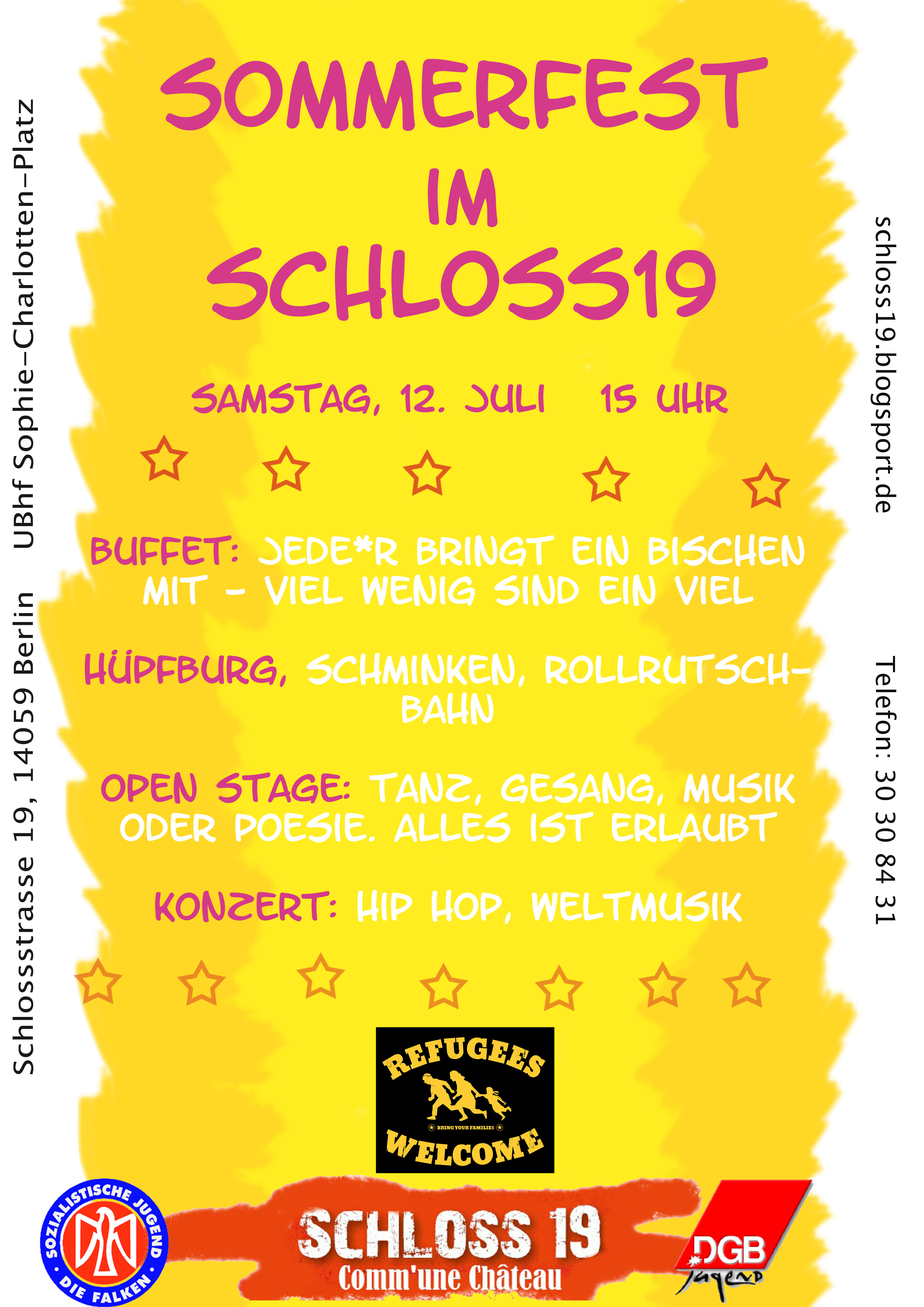 Sommerfest Schloss19 - comm'une château